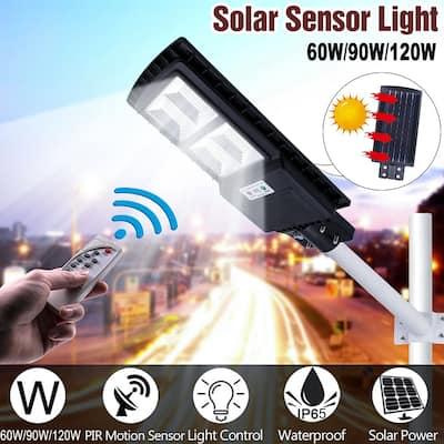 120W 240LED Outdoor Waterproof Light Solar Sensor Light