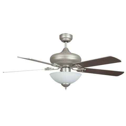 """Valore 52"""" Valore Quick Connect Ceiling Fan with Three LED Light Fixture - 52 Inch"""