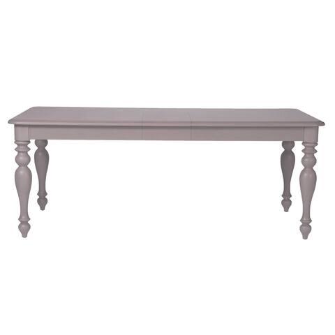 Summer House 40x78 Dove Gray Rectangular Dinette Table - Grey