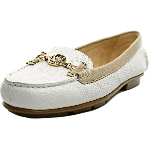 Aerosoles Nuwlywed Women W Round Toe Leather White Loafer