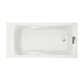 "American Standard 7236VC Evolution 72"" Acrylic Whirlpool Bathtub with Reversible Drain and EverClean Technology - Lifetime"