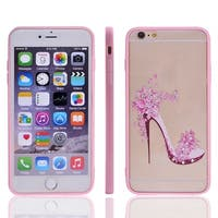 High-heeled Shoes Decor Back Protective Phone Hard Case for iPhone 6 Plus