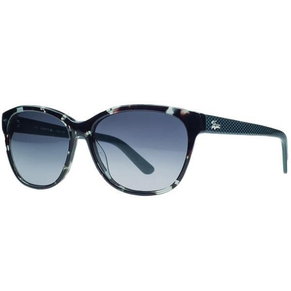 Lacoste L704/S 466 Petrol Havana Wayfarer Sunglasses - 55-14-135