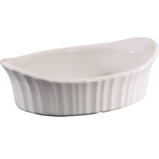 CorningWare 1106004 Appetizer Dish, 18 Oz, French White