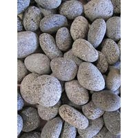 Rain Forest NL20-1030 20 LB Black Lava Pebbles