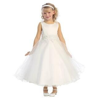 Little Girls Ivory Embroidered Satin A-Line Tulle Flower Girl Dress 4|https://ak1.ostkcdn.com/images/products/is/images/direct/f81084b9be067592d461320fd5a212f664fa2f0a/Little-Girls-Ivory-Embroidered-Satin-A-Line-Tulle-Flower-Girl-Dress-4.jpg?impolicy=medium