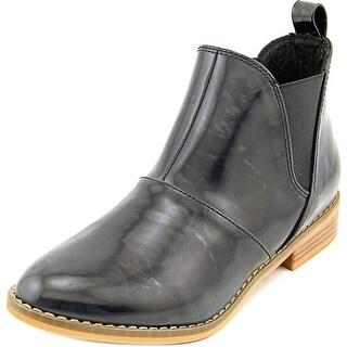Rocket Dog Maylon Women Round Toe Synthetic Black Ankle Boot