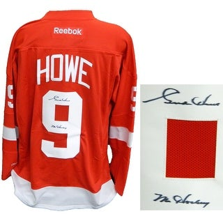 b3486c39a Shop Gordie Howe Detroit Red Wings Red Reebok Premier Hockey Jersey wMr  Hockey - Free Shipping Today - Overstock - 13278248