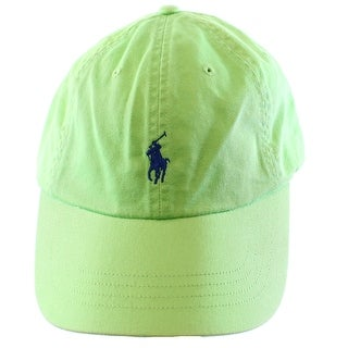 Polo Ralph Lauren NEW Lime Green Men's One-Size Chino Baseball Cap