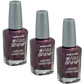 Wet n Wild Wild Shine Nail Color, Wild Card [465], 3 pack