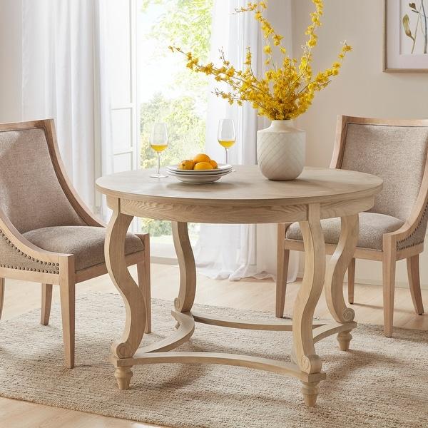 Martha Stewart Elmcrest Natural Dining Table. Opens flyout.