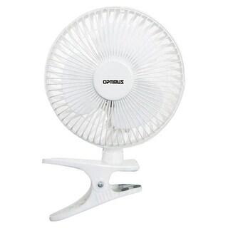 Optimus F-0645 Personal Clip On Fan