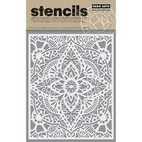 "Hero Arts Stencil 6.25""X5.25""-Glorious Petal"