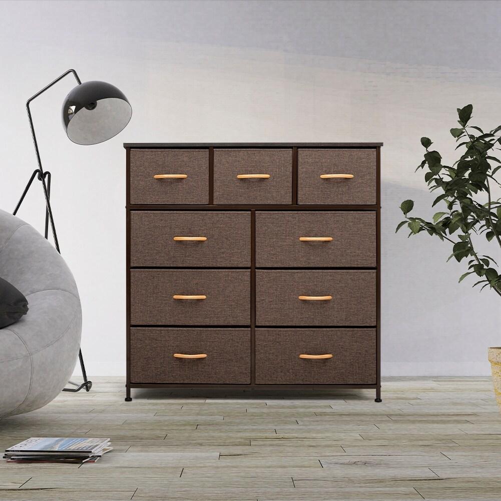 extra large white dresser