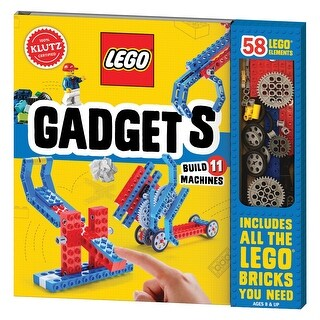 Klutz Lego Gadgets Kit - Make Lego Machines - Incl. Pieces and Instruction Book