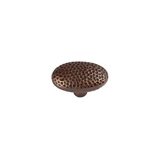 """Link to The Copper Factory CF106 2"""" Oval Cabinet Knob Similar Items in Hardware"""