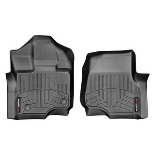 WeatherTech 446971 Black Front FloorLiner: Ford F-150 2015, SuperCrew and SuperCab