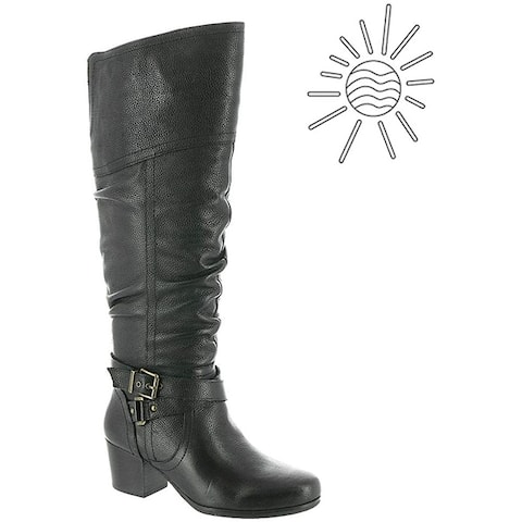 ARRAY Women's Shoes Dakota Leather Closed Toe Knee High Fashion Boots