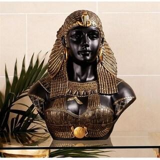 Design Toscano Queen Cleopatra Neoclassical Sculptural Bust