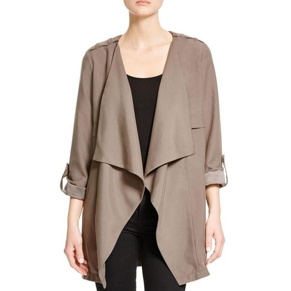 Vero Moda Womens Serena Casual Blazer Drapey 3/4 Sleeves