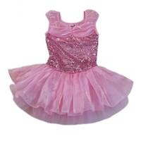 3dd4a5adbeee Shop Wenchoice Girls Pink Skirted 2 Layer Spaghetti Strap Leotard ...