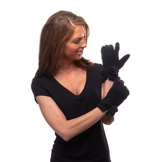 Fleece Out Vented Cuff Gloves with Bow