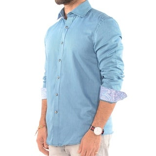 Dress Shirt, Teal
