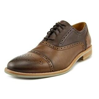 Warfield & Grand Public Men Cap Toe Leather Oxford