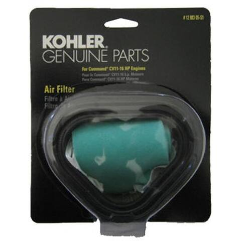 Kohler 12 883 05-S1 Replacement Air Filter
