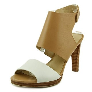 Via Spiga Rita Women Open Toe Leather Multi Color Sandals