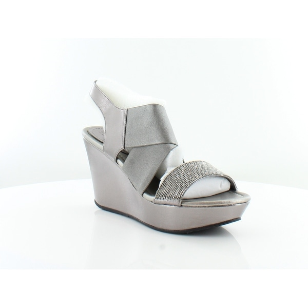 Kenneth Cole Reaction Sole Less 2 Women's Sandals & Flip Flops Pewter - 6.5