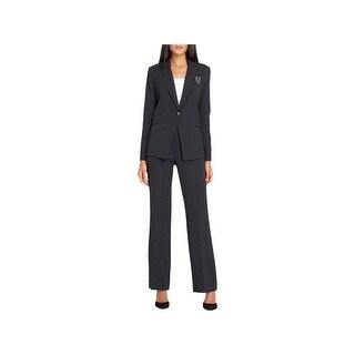 Tahari ASL Womens Pant Suit Business Attire Professional