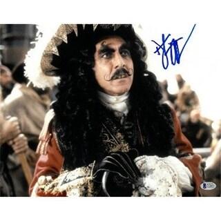 CTBL-021151 Dustin Hoffman Signed Captain Hook, 11 x 14 in.