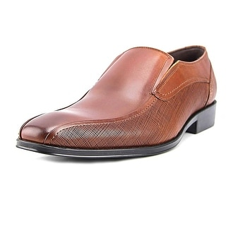 Kenneth Cole Reaction Other Half Men  Round Toe Leather Brown Loafer