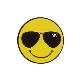 MICHAEL Michael Kors Aviator Happy Face Sticker - Daffodil - One size