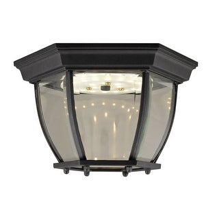 "Design House 578518 Canterbury 10-13/16"" Wide Integrated LED Outdoor Flush Mount"