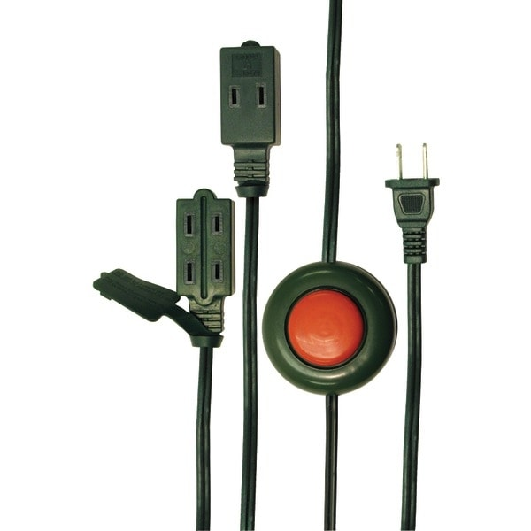 Axis 45513 3-Outlet Foot Switch Extension Cord (15Ft)