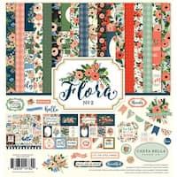 "Carta Bella Collection Kit 12""X12""-Flora No. 2"