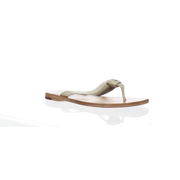7f82d5751 Shop Frye Womens Perry Knot Thong Cement-78063 Flip Flops Size 6 ...