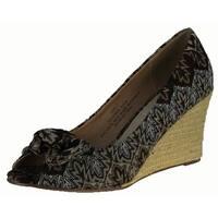 Restricted Womens Peppermint Sandals Pumps Shoes - Black