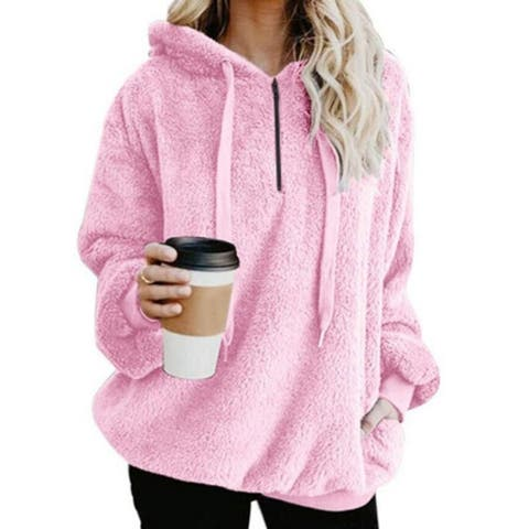 European And American Hooded Loose Sweater
