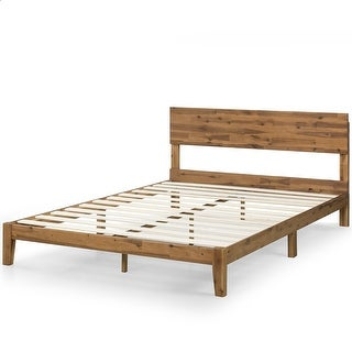 Link to Priage by Zinus 10 Inch Wood Platform Bed with Headboard Similar Items in Bedroom Furniture