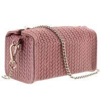 HS1152 RA PIA Pink Leather Wristlet/Crossbody Bag - 7-4-4