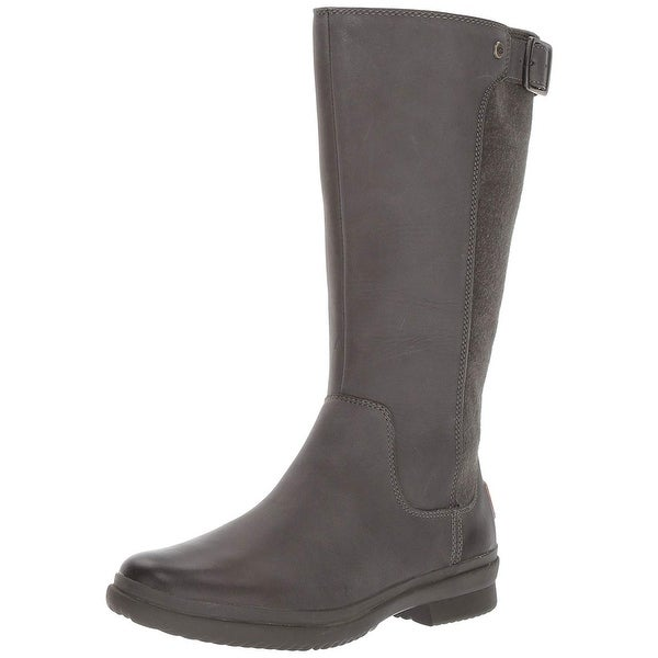 791662e7a12 Shop Ugg Womens Janina Leather Closed Toe Knee High Fashion Boots ...