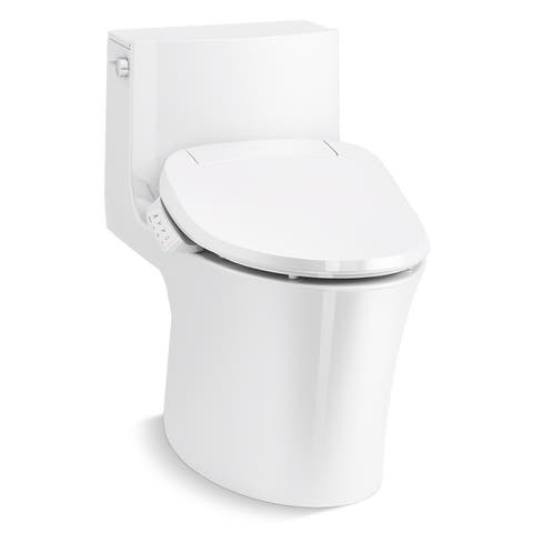 Kohler K-1381-HC Veil 0.8/1.28 GPF Dual Flush One Piece Elongated - White