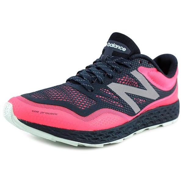 New Balance WTGOBI Women D Round Toe Synthetic Blue Running Shoe