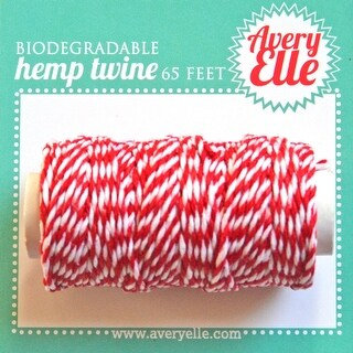 Cherry - Avery Elle Hemp Twine 65ft