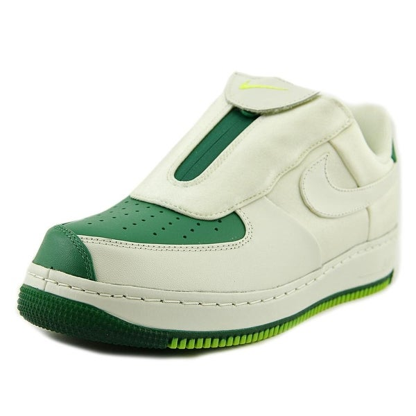 0d55fd1aa9053 Nike Air Force 1 Low Cmft LW GP SIG Men Round Toe Leather Green Sneakers