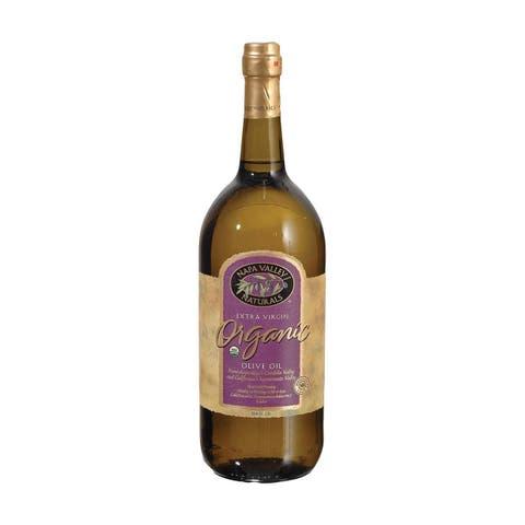 Napa Valley Naturals Organic Extra Virgin Olive Oil - Case of 6 - 50.8 Fl oz.