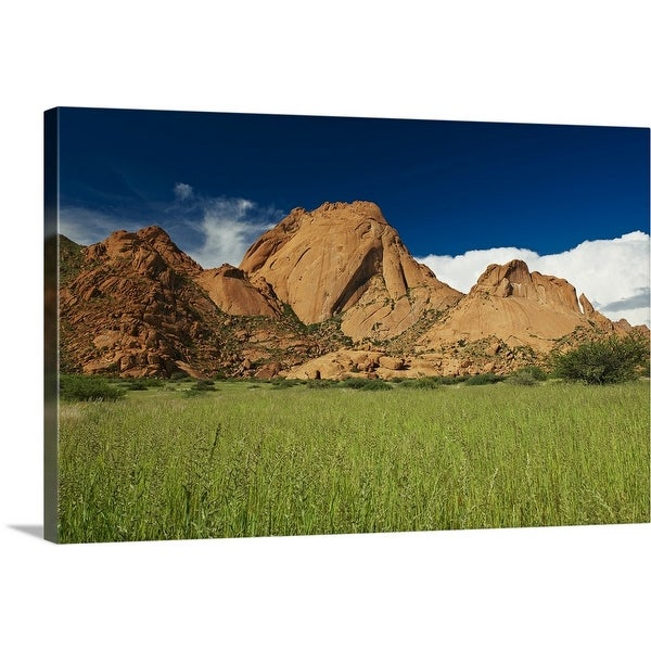 """""""Spitzkoppe, Namibia, Africa"""" Canvas Wall Art"""
